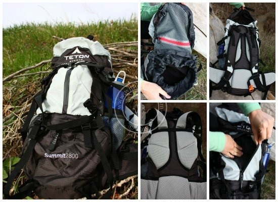 teton summit2800 backpack review