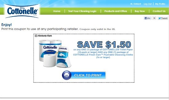 Scott® Toilet Paper & Paper Towel Coupons