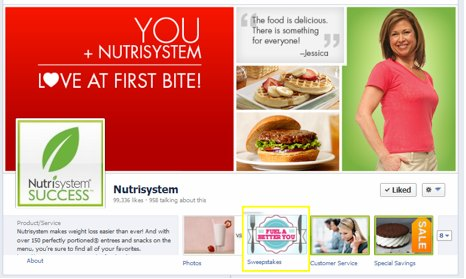 Nutrisystem diet and salt content