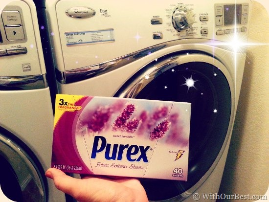 Purex Fabric Softener Dryer Sheets Giveaway With Our