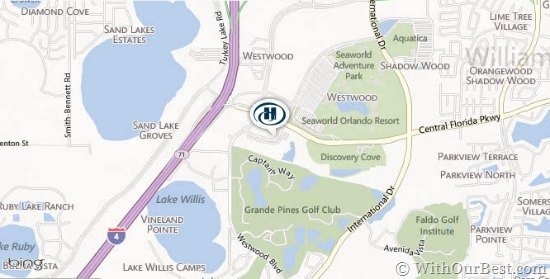 hilton grand vacations orlando directions location