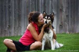 My Dog and I are Inseparable…Most of the Time. #NudgesMoments