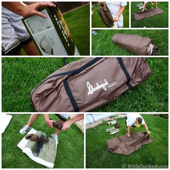 setting up slumberjack trail tent review & Camping Gear: Slumberjack Trail Tent 4 Review - With Our Best ...