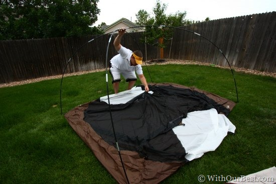 slumberjack 4 man tent review & Camping Gear: Slumberjack Trail Tent 4 Review - With Our Best ...
