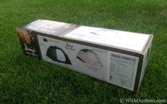 slumberjack trail tent 4 & Camping Gear: Slumberjack Trail Tent 4 Review - With Our Best ...