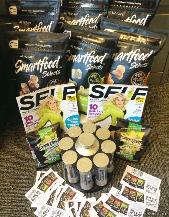 smartfood prize package