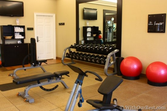 workout room hilton orlando seaworld
