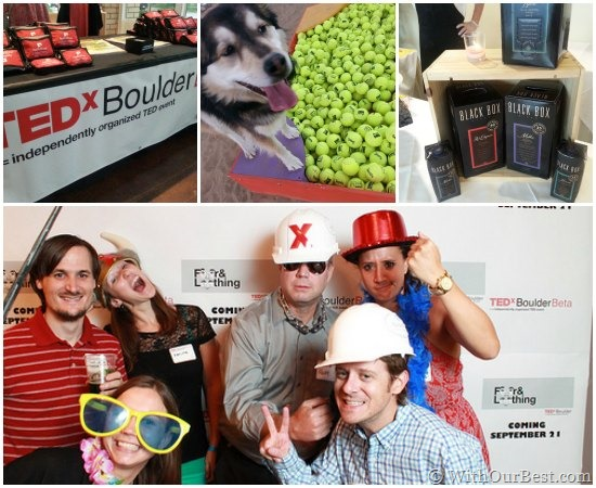 tedx boulder dog parks and black box wine
