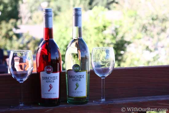 New Barefoot Refresh from Barefoot Wine {Review} - With Our Best