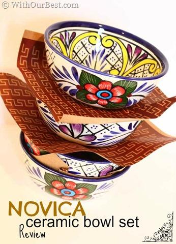 NOVICA Ceramic Bowl Set Review