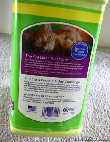 Cat S Pride Freshandlight Cat Litter Review With Our