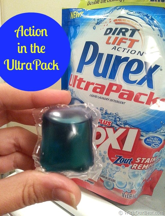 Purex Ultrapacks Plus Oxi Concentrated Detergent