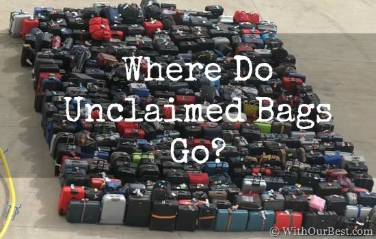 Where Does Lost Airline Luggage Go? I'll Tell You…