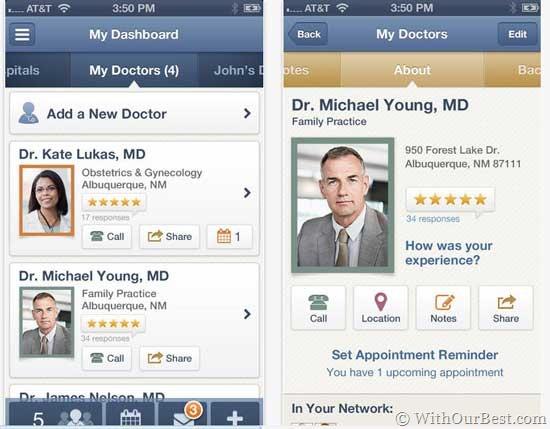 Healthgrades doctor