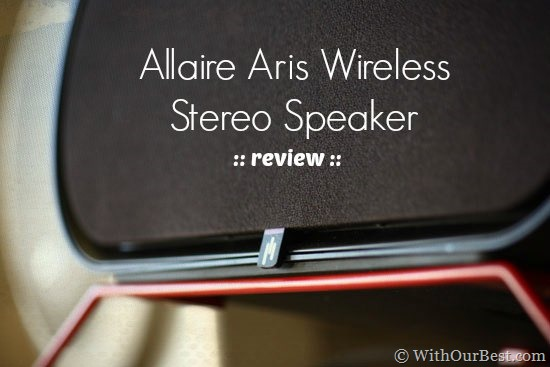 Allaire ARIS Wireless Speakers with Bluetooth from Aperion Audio