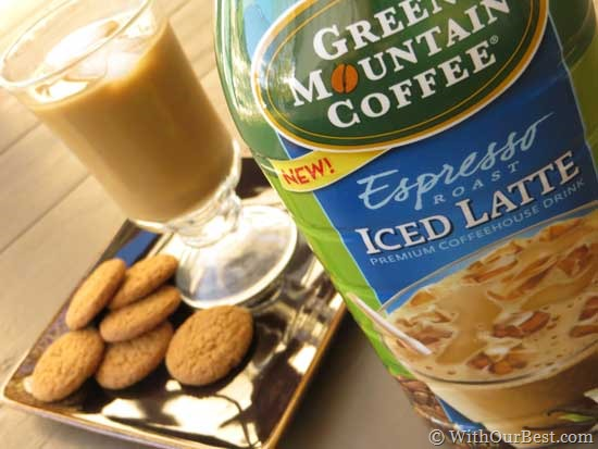 """Me time"" with Green Mountain Coffee Iced Latte #GMIcedLatte"