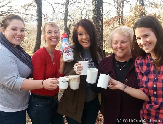 Bonding Moments Created with Coffee Mate #loveyourcup