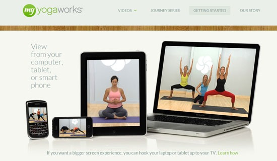 Yoga On Demand At Your Pace and Your Level #MC