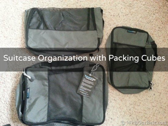 TravelWise Packing Cubes Help Organize my Suitcase