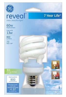 Don't Change Light Bulbs More Than You Have To! GE Reveal.