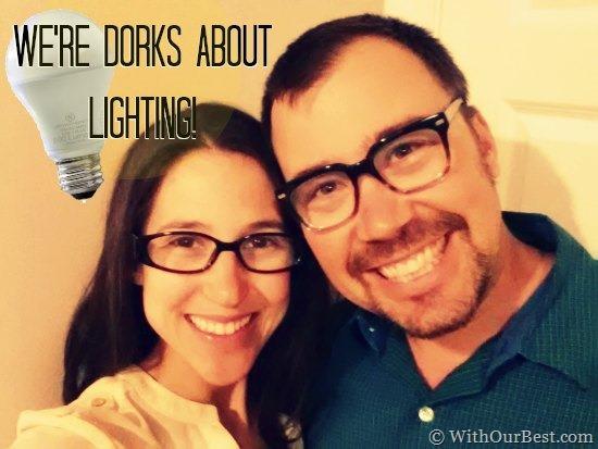 We Get Dorky About LED Power #LEDSavings #shop