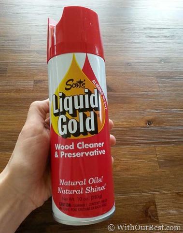 Jun 02, · I was so happy to be able to try out the Scott's Liquid Gold Wood Cleaner & Preservative Aerosol product. Just spray a little on a clean rag and wipe away the dust on any wood surface. I went a little crazy.