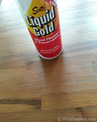 Scotts Liquid Gold Wood Cleaner And Enhancer Giveaway