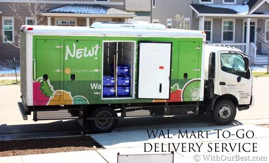 New walmart home delivery service walmarttogo with our for Order food to go