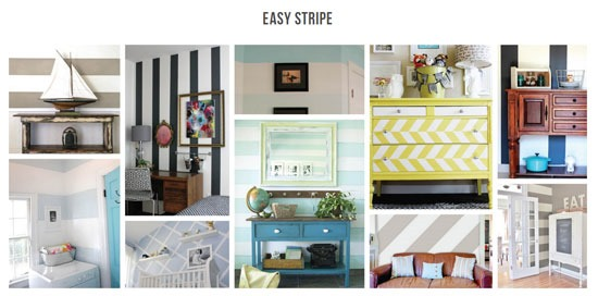 Easy Stripes Wall Decals