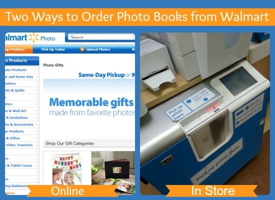 Photo Books from Walmart