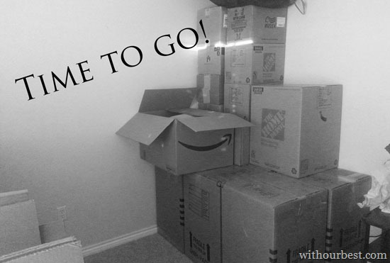 After Months of Packing… we finally moved!