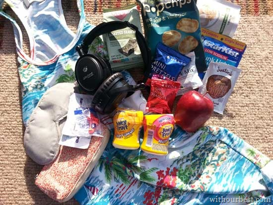 Packing Juicy Fruit In My Go-Bag for Hawaii #JuicyFruitFunSide @Walmart #shop