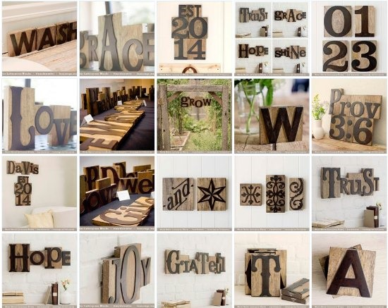 Wooden Letter Press Block Letters From Dayspring Review