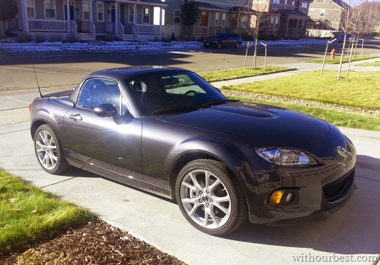 Mazda MX-5 Miata 2015 {Car Review}