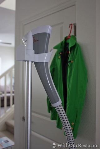 This Standsteam Fabric Steamer Rescues My Wrinkled
