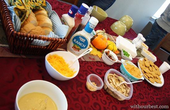Soup Sampling Soirée with Friends #PartyToGo #WalmartGrocery