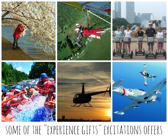 Excitations Experience Gifts
