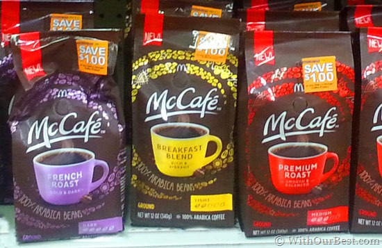 McCafé Premium Roast Coffee Now in Grocery Stores #McCafeMyWay