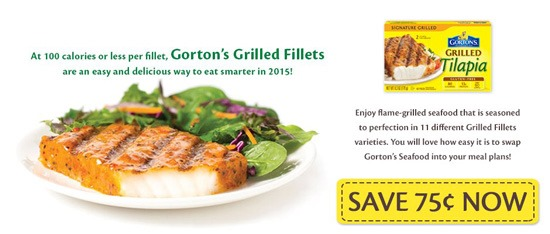 Gorton s simply bake eating more fish in 2015 for Gorton s fish coupons