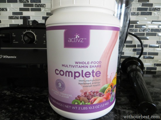 Activz Whole Food Multivitamin Shake Review
