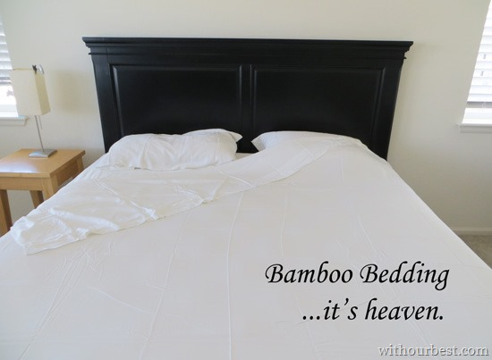 You Haven't Felt Comfort Until You've Tried Bamboo Bedding {+Giveaway}