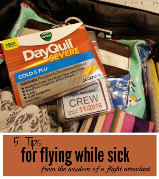 Tips for flying with cold