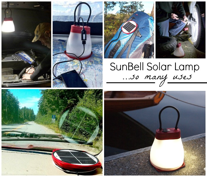 SunBell Solar Lamp Uses