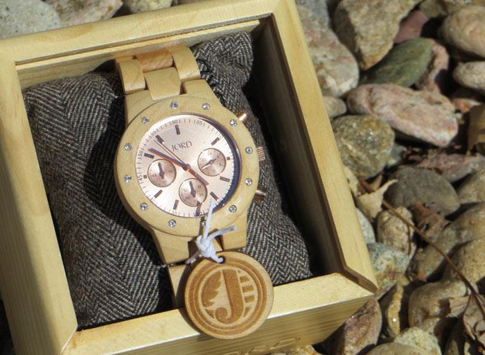Women's Wood Watch Review #jordwatch