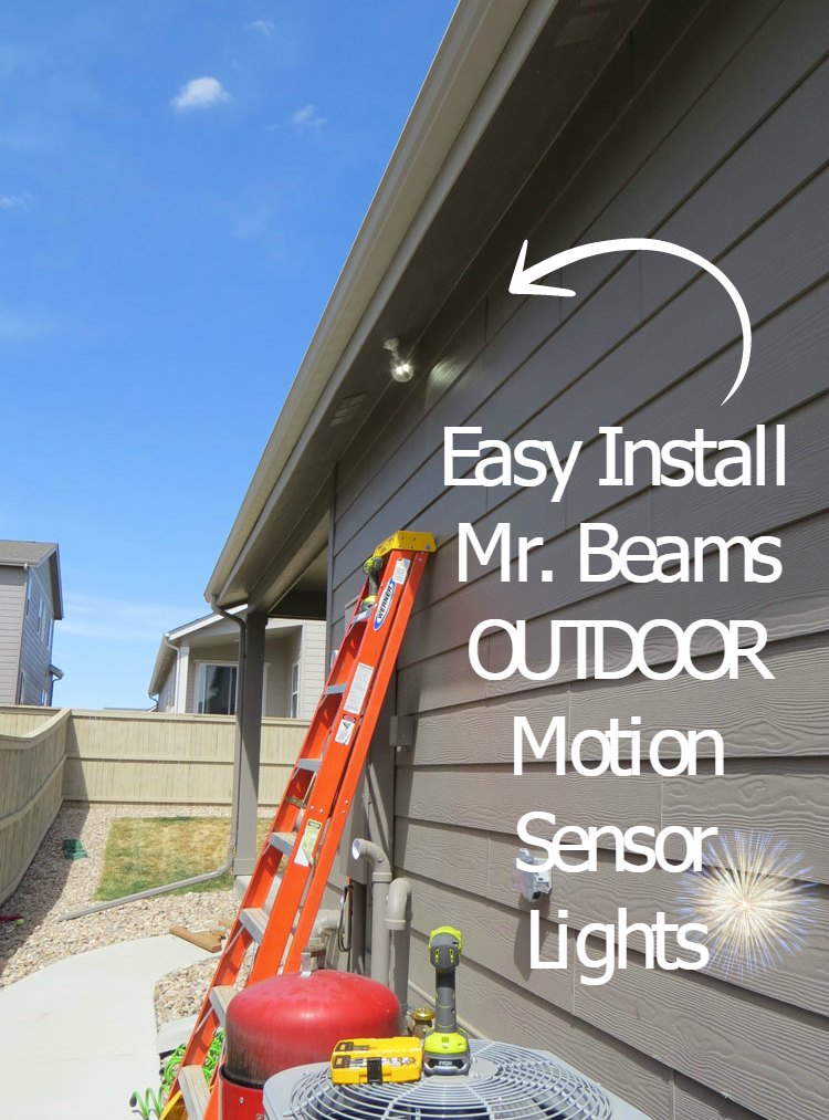 Review outdoor motion sensor lights led mr beams with our best mr beams sent me outdoor motion sensor lights for review purposes aloadofball Gallery
