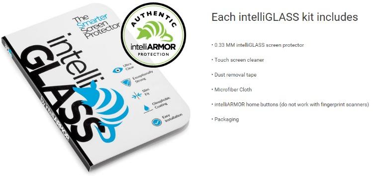 intelliglass screen protector