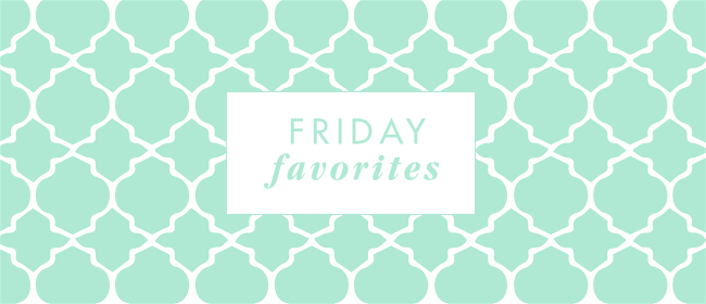 Friday Favorites {Books, Books, Books!}