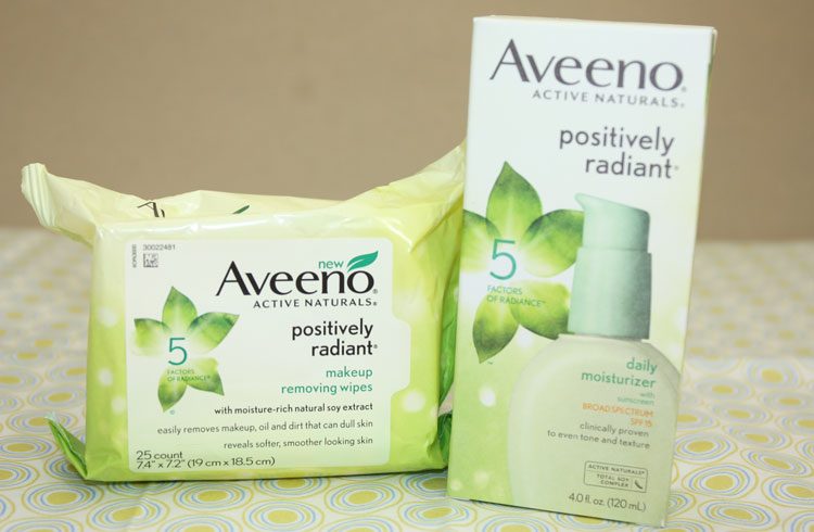 My AVEENO Positively Radiant Routine - With Our Best - Denver Lifestyle Blog