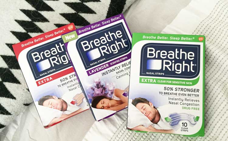 Solution to Snoring? Try Breathe Right!