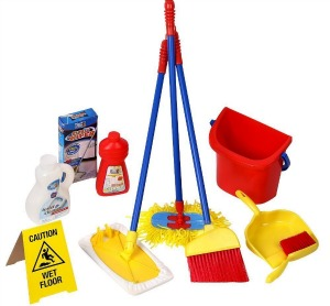 pretend cleaning set